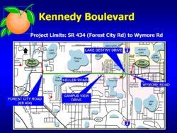 Kennedy Blvd Project Limits